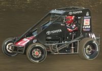 2016 USAC Indiana Midget Champion Carson Macedo from Lemoore, California.
