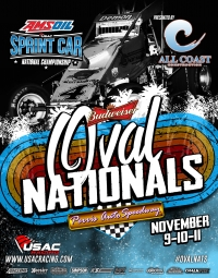 "RACEDAY: ""Oval Nationals"" Final Night - Nov. 11, 2017"