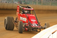 "Two-time defending ""Ted Horn 100"" winner at Du Quoin, Shane Cockrum of Benton, Illinois."