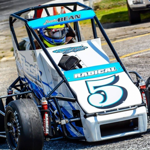 USAC Speed2 Eastern Midget point leader Jessica Bean.