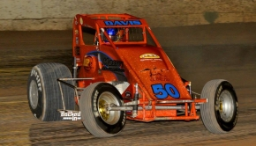 Buckeye, Arizona native Charles Davis, Jr. stands 2nd in USAC Southwest Sprint Car Series point standings.