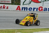 Tracy Hines leads the pavement  Midgets to 2 races this week.