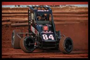 "Phoenix, Arizona's Chad Boat captured Sunday night's victory in the ""Pennsylvania Midget Week"" opener at BAPS Motor Speedway."
