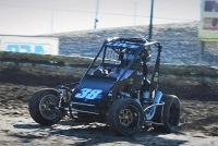 USAC Western HPD Midget Overall and Dirt point leader Jesse Love IV.