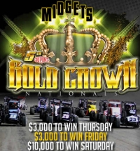 "GRANITE CITY'S ""GOLD CROWN"" NEXT FOR NATIONAL MIDGETS"