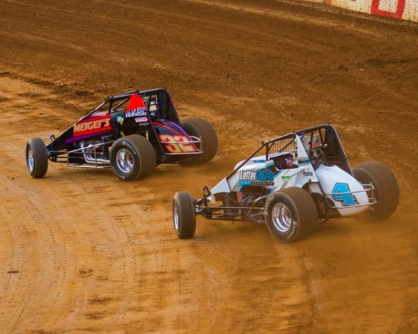 USAC Rapid Tire East Coast Sprint Car action from the 2018 season.