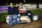 DARLAND'S 41ST NATIONAL SPRINT CAR WIN IS PHILLIPS MOTORSPORTS' 1ST