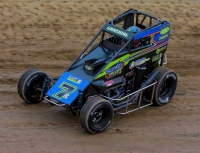 Eldora USAC  P1 Insurance National Midget winner Tyler Courtney.