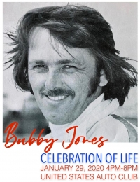 BUBBY JONES CELEBRATION OF LIFE WEDNESDAY AT USAC