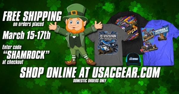 ST. PATRICK'S WEEKEND DEALS ON USACGEAR.COM