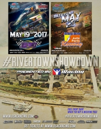 TICKETS FOR USAC SPRINT CAR RIVER TOWN SHOWDOWN IN ILLINOIS AND MISSOURI NOW ON SALE