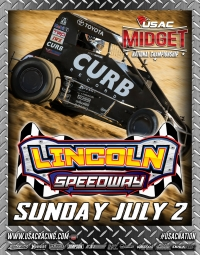 RACEDAY! USAC National Midgets at Lincoln (IL) Speedway - July 2, 2017