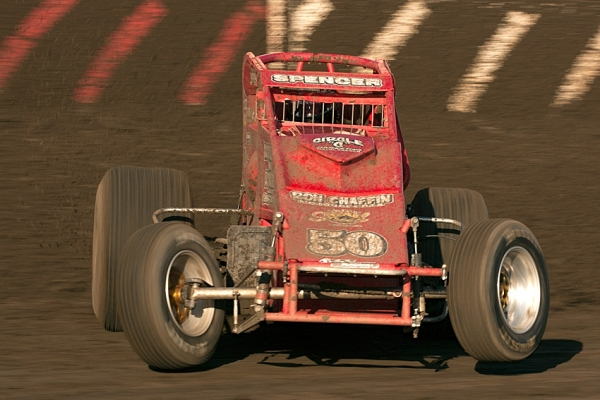 SPENCER BACK ON TOP IN CRA SPRINT CAR ACTION AT TULARE