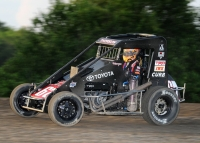 FIRST USAC MIDGET WIN FOR THORSON COMES AT GAS CITY