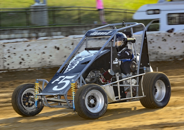 Broc Hunnell - 8th in IMRA Midget point standings.