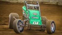 Brody Roa backs it in during last year's Indiana Sprint Week.