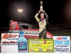 LEARY'S LONG WAIT IS OVER; WINS SMACKDOWN NIGHT TWO AT KOKOMO
