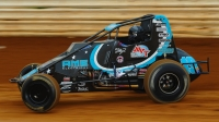 USAC AMSOIL National Sprint Car point leader C.J. Leary of Greenfield, Ind.