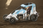 KEVIN THOMAS, JR. GETS MIDGET RIDE FOR SUNDAY'S LEFFLER MEMORIAL