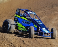 Indiana Sprint Week presented by Camping World point leader Thomas Meseraull.