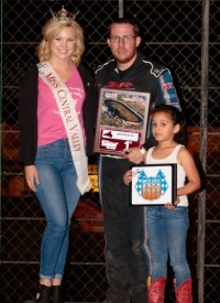Ronnie Gardner won his fifth USAC Western States Midget feature of the year Saturday night at Tulare, California's Thunderbowl Raceway.