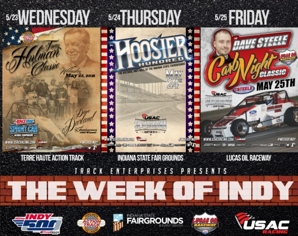 USAC'S WEEK OF INDY 3-DAY DISCOUNT AVAILABLE VIA SUPERTICKET
