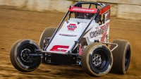 #6 Mario Clouser will compete full-time on the USAC AMSOIL National Sprint Car tour in 2021 for Eberhardt-Zirzow Racing.