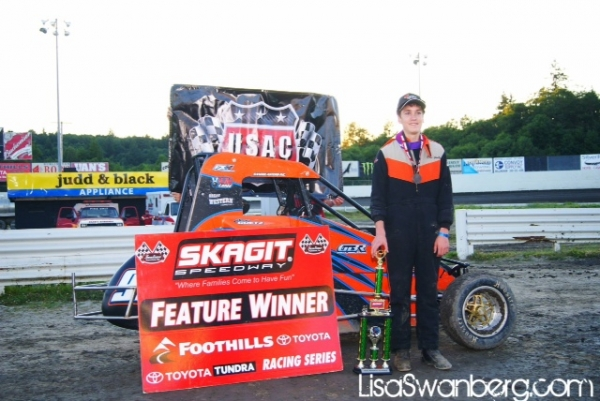 Chase Goetz lands #8 at Skagit.