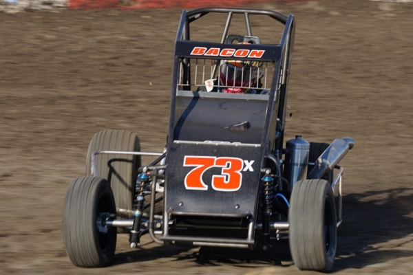BACON EMERGES WITH TULARE WESTERN MIDGET TRIUMPH