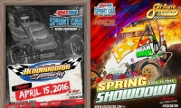 USAC AMSOIL NATIONAL SPRINTS AT BLOOMINGTON FRIDAY, TRI-STATE SATURDAY