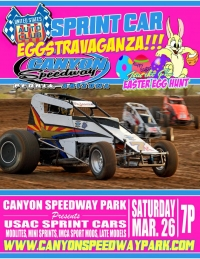 SOUTHWEST SPRINT EASTER EGGSTRAVAGANZA SATURDAY AT CANYON