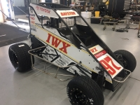The new colors for USAC National Midget point leader Spencer Bayston.
