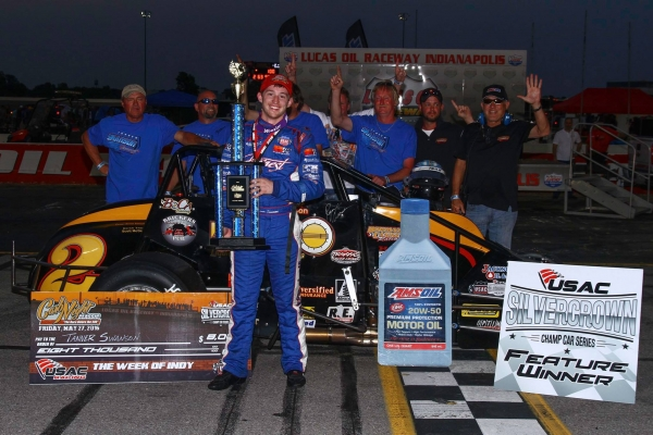 "TANNER TAKES ""CARB NIGHT CLASSIC"" AS SWANSONS RUN 1-2 AT LUCAS OIL RACEWAY"