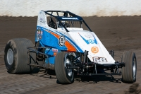 Ryan Bernal - the 2014 USAC Western Classic Sprint Champion.