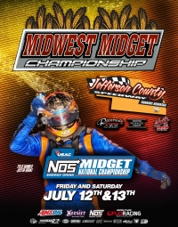 EVENT INFO: JEFFERSON COUNTY USAC MIDGETS - 7/12/2019