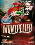 SATURDAY'S MONTPELIER USAC AMSOIL NATIONAL SPRINT RACE POSTPONED