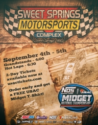 EVENT INFO: 9/4/2020 SWEET SPRINGS USAC MIDGETS