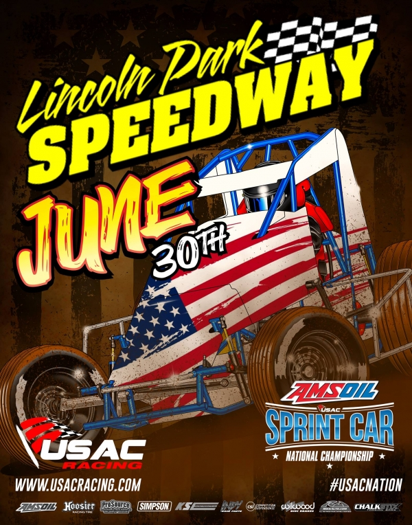 PUTNAMVILLE USAC SPRINT SHOW RAINED OUT; INDIANA SPRINT WEEK BEGINS FRIDAY, JULY 7