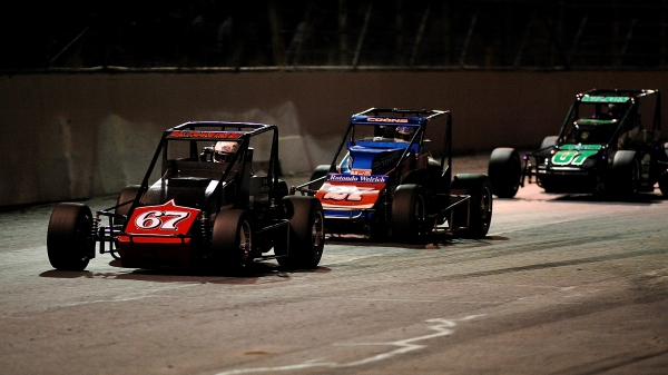 2009 USAC Silver Crown action at Oswego Speedway