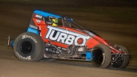 "Tyler Courtney (Indianapolis, Ind.) is among the five drivers ""locked-in"" to Saturday night's $10,000-to-win USAC AMSOIL National Sprint Car A-Main at Bubba Raceway Park."