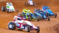 USAC Rapid Tire East Coast Sprint Car action from Big Diamond Speedway.