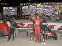 "BELL OPENS ELDORA ""4-CROWN"" WITH MIDGET VICTORY"