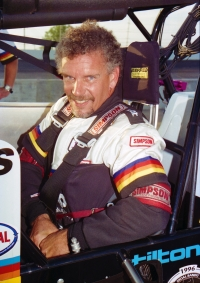 1996 USAC Silver Crown champion Jimmy Sills.