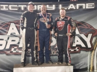 DAVIS WIRE-TO-WIRE AT ARIZONA SPEEDWAY