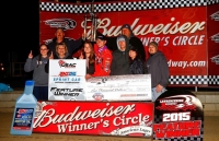 JARRETT KNOCKS OFF FIRST USAC WIN IN LAWRENCEBURG UPSET