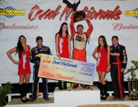 "DARLAND HOLDS OFF NATIONAL CHAMPION CLAUSON TO WIN ""OVAL NATIONALS"" AT PERRIS"