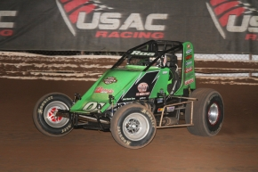 #91R Brody Roa became a first-time USAC AMSOIL National Sprint Car winner in 2017.