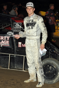 "Darren Hagen won last year's ""Indiana Midget Week"" title."