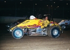 1985 USAC National Sprint Car champion Rick Hood of Memphis, Tennessee
