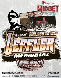 "SUNDAY'S ""LEFFLER MEMORIAL"" CANCELLED DUE TO FORECASTED RAIN"